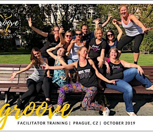 Groove dance školenie, Praha